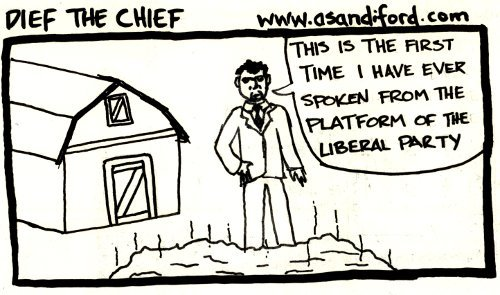 Dief The Chief (Rerun)