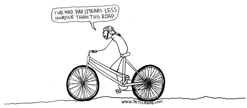 i took much of the drawing inspiration here from video of kermit the frog riding a bike. can you tell?