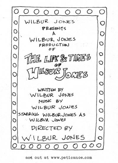 each one is a different wilbur jones. the wilbur jones touring theatrical troupe has very specific auditioning requirements.