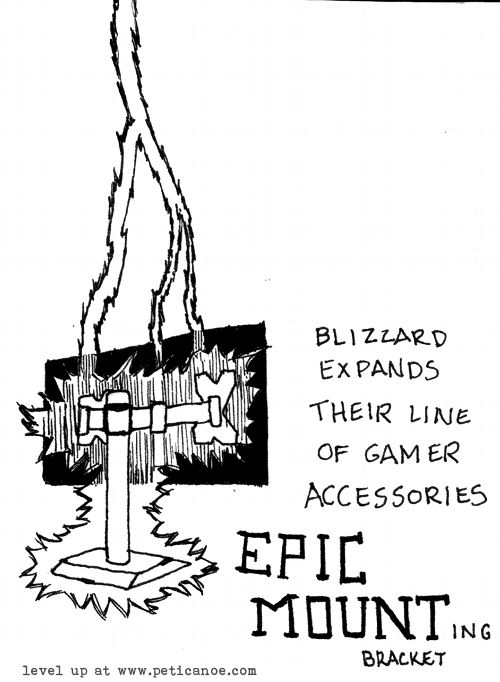 WTB lightning bolt effect for desktop accessories