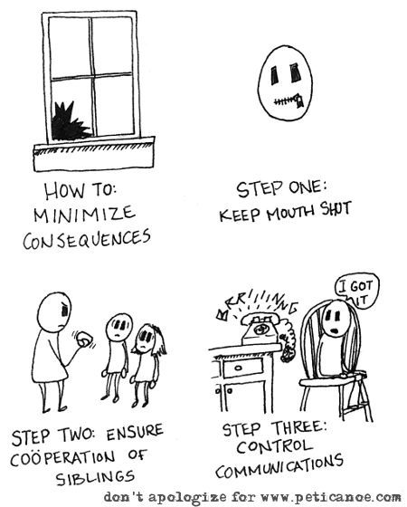 step two is often where things go horribly, horribly wrong