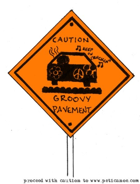 warning: very very very slow drivers up ahead