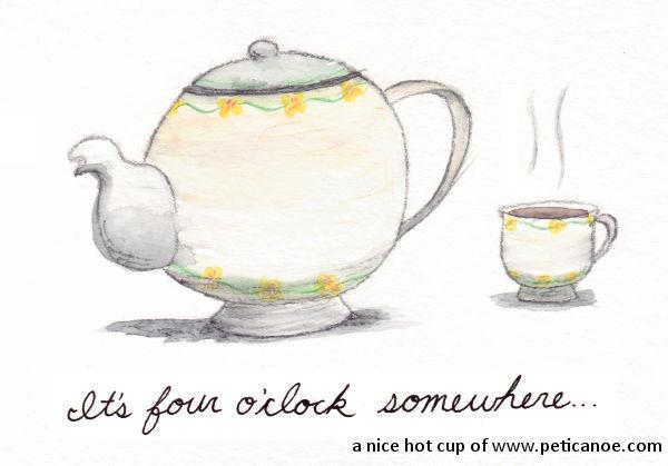 rutles accused of taking tea